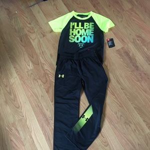NWT Under Amour Pant Set